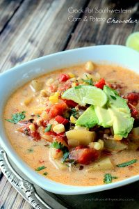 Image of Crock Pot Corn & Potato Chowder