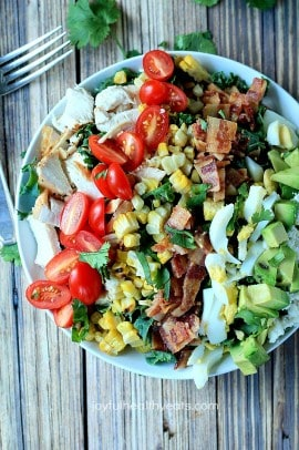 Southwestern Cobb Salad with Creamy Tomatillo Dressing_3