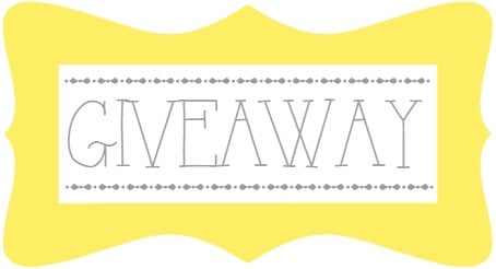 """A Sign With a Yellow Border That Says """"Giveaway"""""""