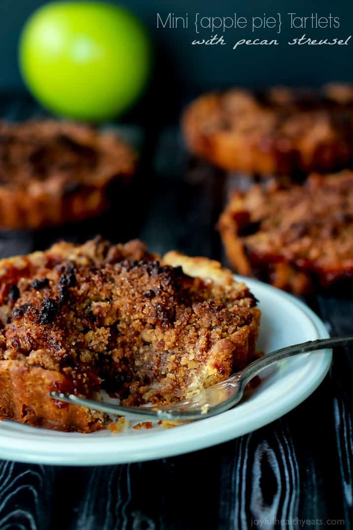 Mini Cinnamon Apple Tartlets with Pecan Streusel-4