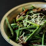 Roasted Green Beans & Mushrooms-3