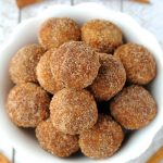 Image of Snickerdoodle Energy Balls in a Bowl