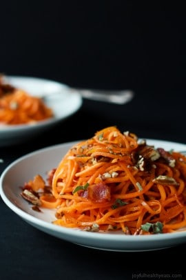 Sweet Potato Noodles with Brown Butter Sage Sauce-3