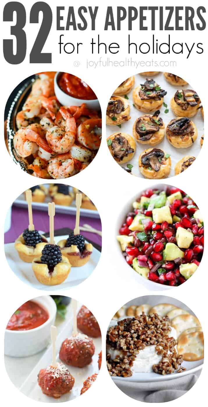32 Easy Party Appetizers for the Holidays