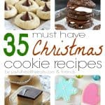 A Collage of Eight Festive Kinds of Christmas Cookies