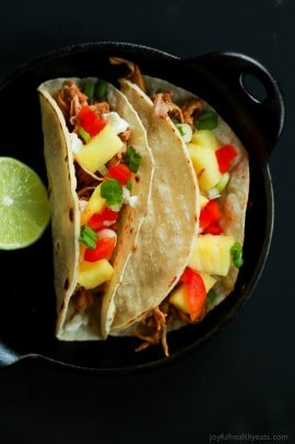 Crock Pot Hawaiian Pork Tacos-6