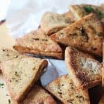 Homemade Baked Pita Chips-5