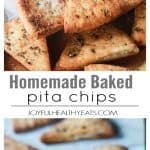 Homemade Baked Pita Chips | How to Make the Best Pita Chips!