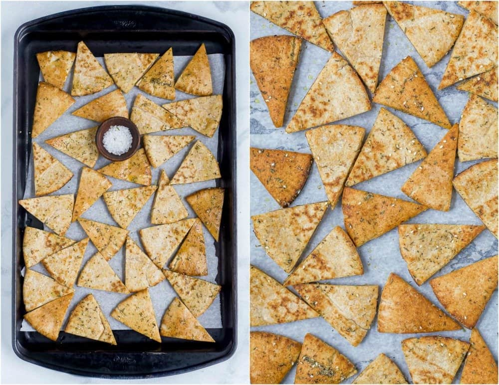 how to make homemade pita chips