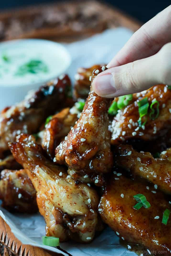 how to make honey sauce for chicken wings