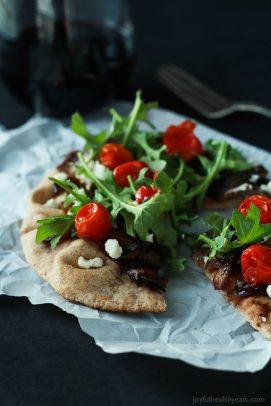 30 Minute Pita Pizza Image