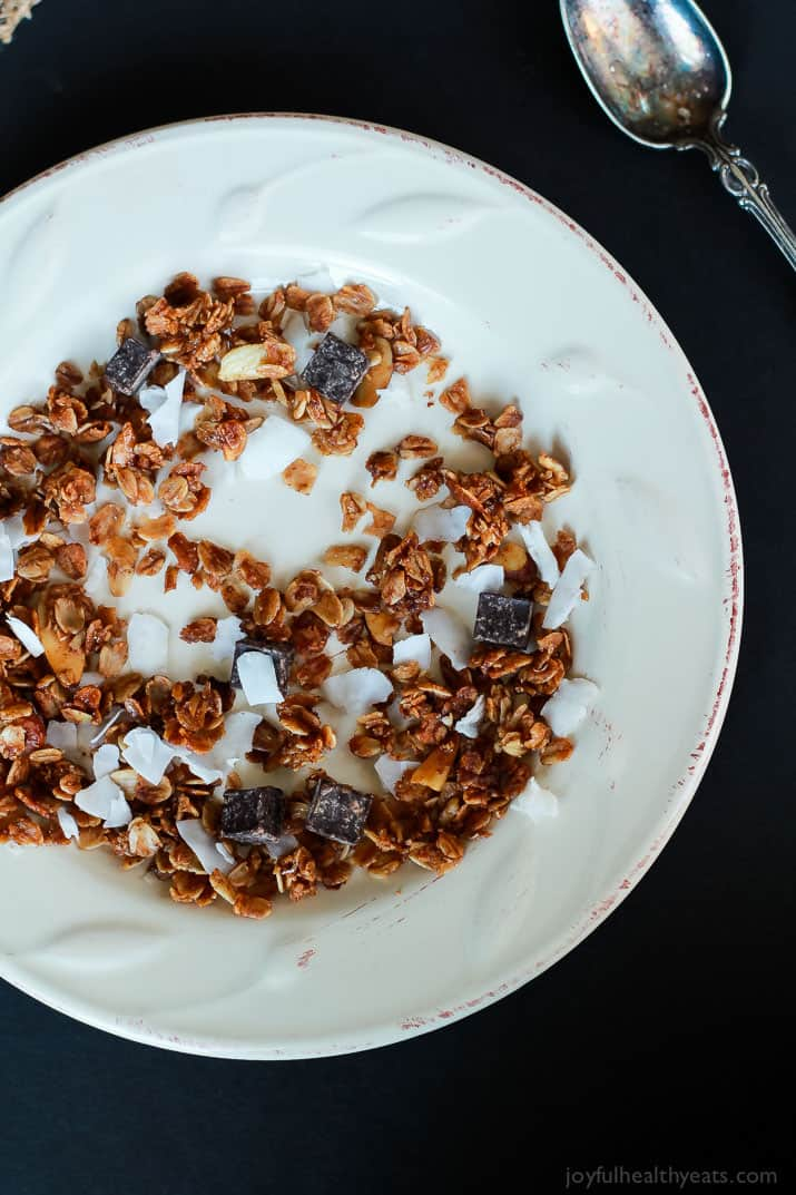 The Best Homemade Almond Joy Granola Recipe