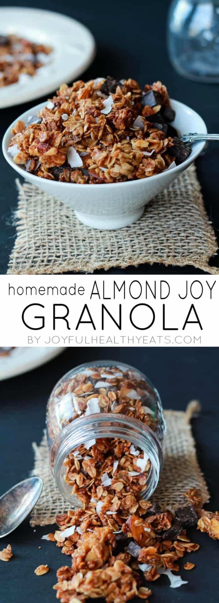 The Best Homemade Almond Joy Granola made in just 30 minutes! This ...