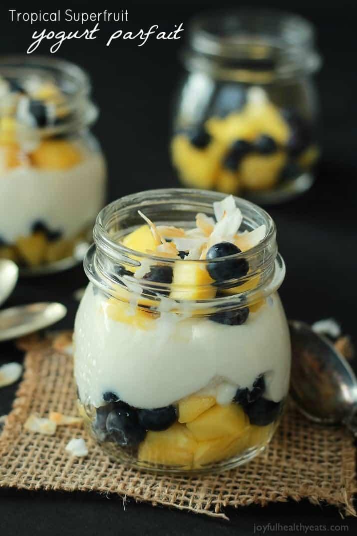 Tropical Superfruit Yogurt Parfait