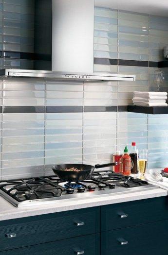 My Ideal White Kitchen | Design Ideas | White cabinets, Gray subway tile, Color schemes, and Appliances| joyfulhealthyeats.com #OurAmericanKitchen #ad