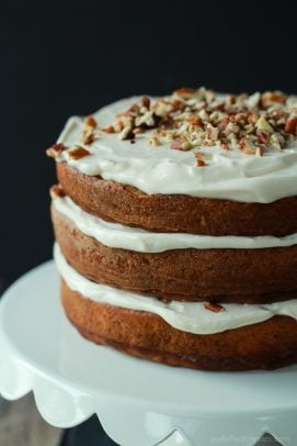 Healthier Hummingbird Cake with Cream Cheese Frosting-7