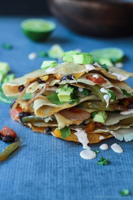 Tex-Mex Savory Crepes with Chipotle Lime Crema-6