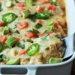 Image of Chicken Enchilada with Creamy Green Chili Sauce