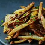 Crispy Baked Garlic Parmesan Fries-4