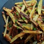 Image of Crispy Baked Garlic Parmesan Fries