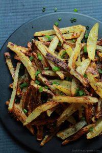Image of Crispy Baked Garlic Parmesan Fries
