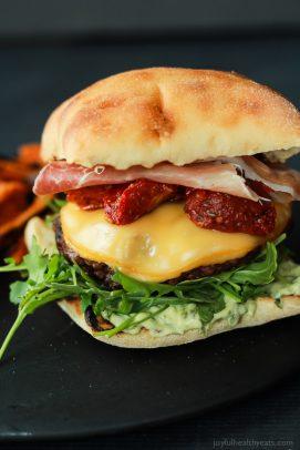 Image of the Ultimate Italian Cheeseburger