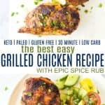 pinterest for the best easy grilled chicken recipe