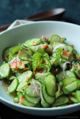 Asian Cucumber Salad-5