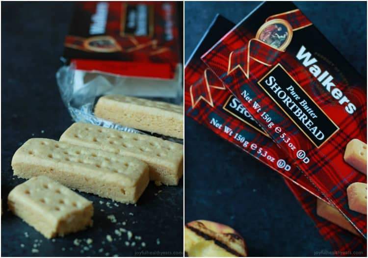 Collage of Walker's Shortbread Cookies