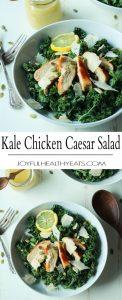Easy Kale Chicken Caesar Salad Recipe   Healthy & Delicious Kale Salad