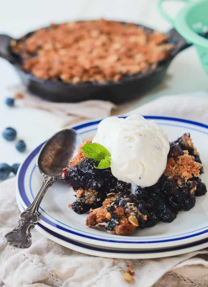 Ginger Blueberry Crisp Recipe