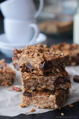 No Bake Peanut Butter Chocolate Bars-2