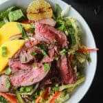 Thai Steak Salad with Spicy Peanut Dressing-2