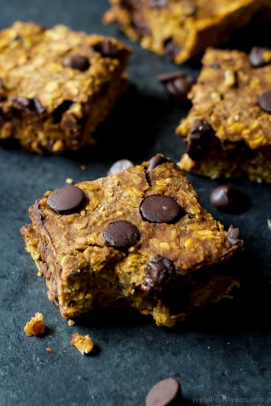 Chocolate Chip Pumpkin Bars Recipe-5