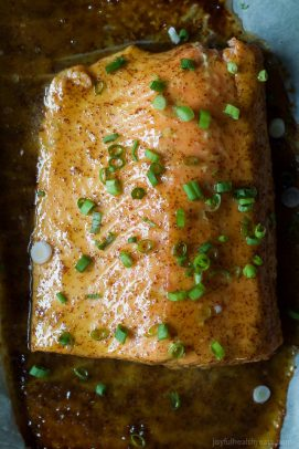 Dijon Maple Glazed Salmon-5