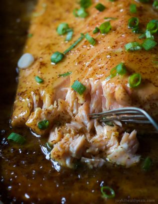 Dijon Maple Glazed Salmon-7