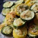 Garlic Parmesan Zucchini Chips-2