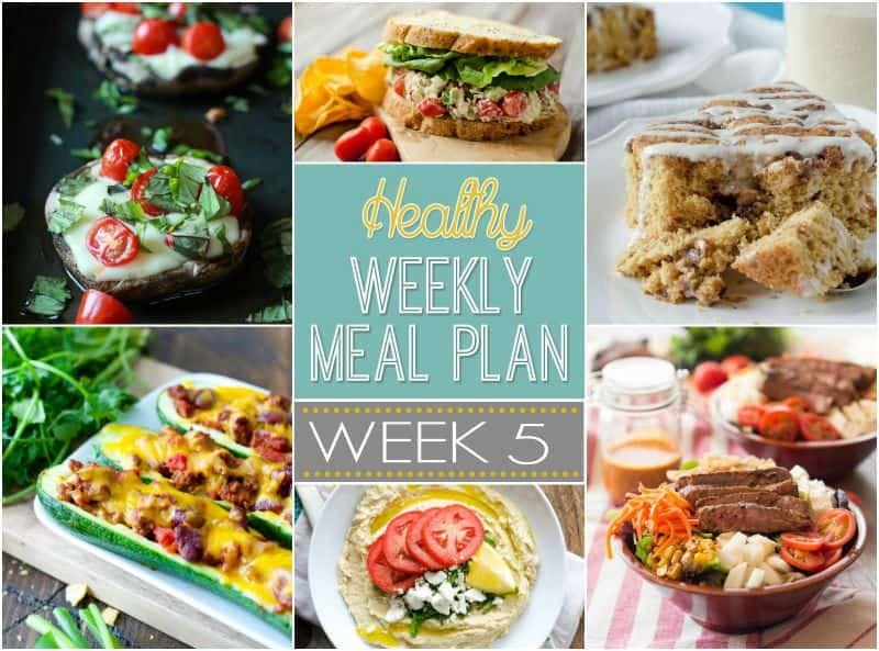 Our Healthy Meal Plan will help you navigate through the next week of meals to make school nights easy and healthy and something your family will enjoy! | joyfulhealthyeats.com #recipes