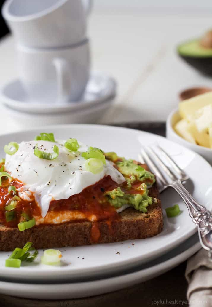 Ricotta Avocado Toast with Poached Egg | Easy Breakfast Recipes