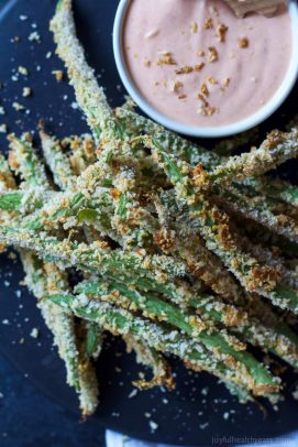 Image of Crispy Baked Green Bean Fries