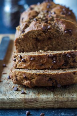 Double Chocolate Chip Banana Bread-3