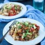 Healthy One Pot Mexican Quinoa Casserole-4