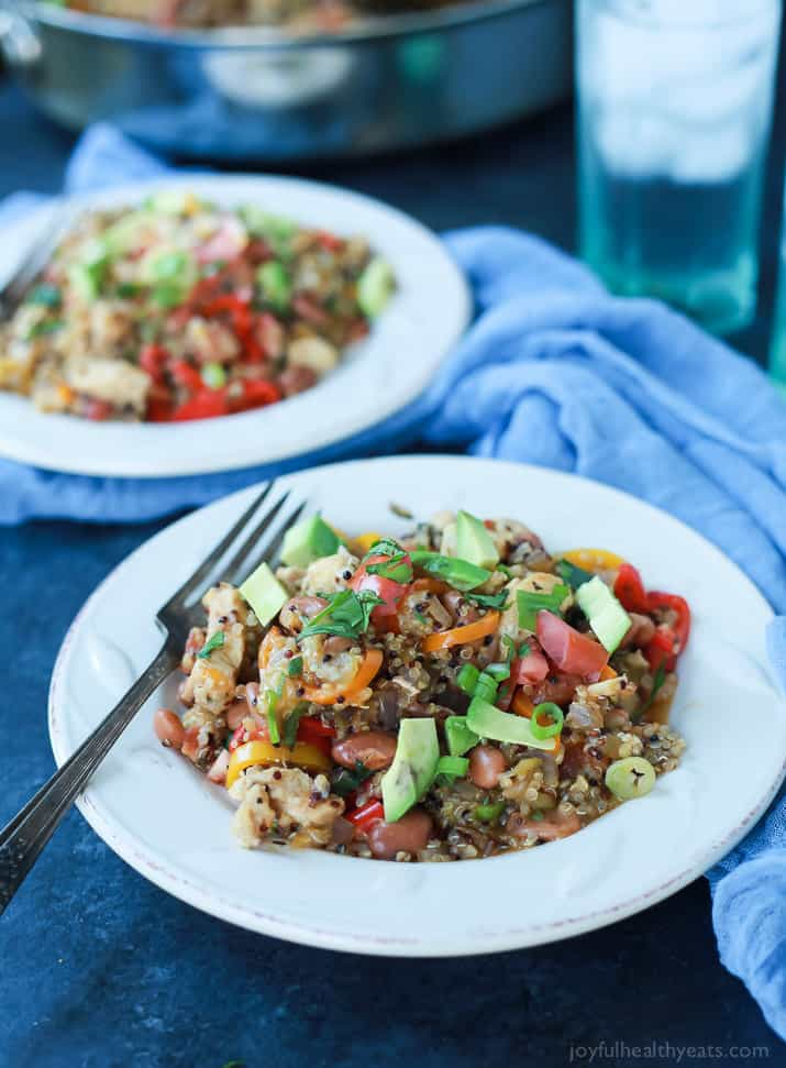 Healthy one pot mexican quinoa casserole one pot meals gluten free healthy one pot mexican quinoa casserole light easy to make packed with nutrients forumfinder Choice Image