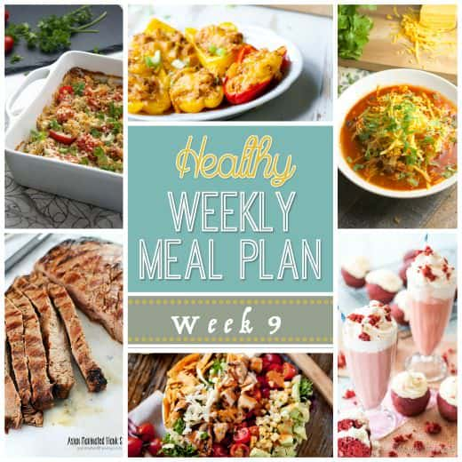 Healthy Meal Plan Week   Easy Healthy Recipes