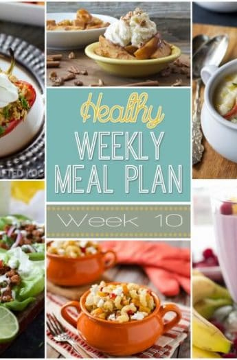 Our Healthy Meal Plan will help you navigate through the next week of meals to make school nights easy and healthy and something your family will enjoy! Everything you need is in this meal plan, breakfast, lunch, dinner, snack, and desert for the week! | joyfulhealthyeats.com #recipes