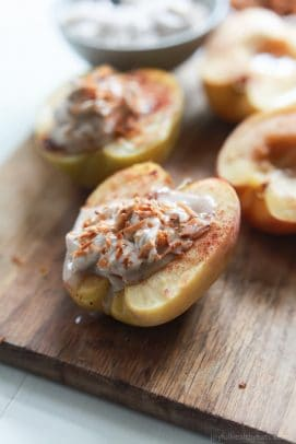 Image of Baked Apples with Cinnamon Mascarpone