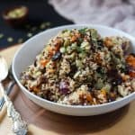 Harvest Roasted Butternut Squash Quinoa Salad