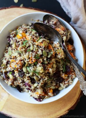 Harvest Roasted Butternut Squash Quinoa Salad-5