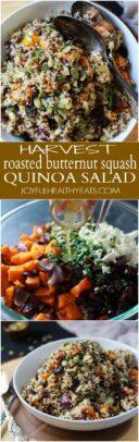 Butternut Squash Quinoa Salad Recipe