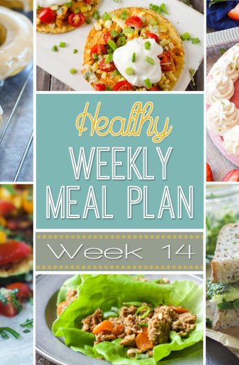 Our Healthy Meal Plan will help you navigate through the next week of meals to make school nights easy and healthy and something your family will absolutely love! Everything you need is in this meal plan, breakfast, lunch, dinner, snack, and desert for the week! | joyfulhealthyeats.com #recipes